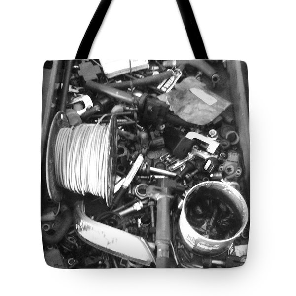 Mechanics Bane Tote Bag by WaLdEmAr BoRrErO