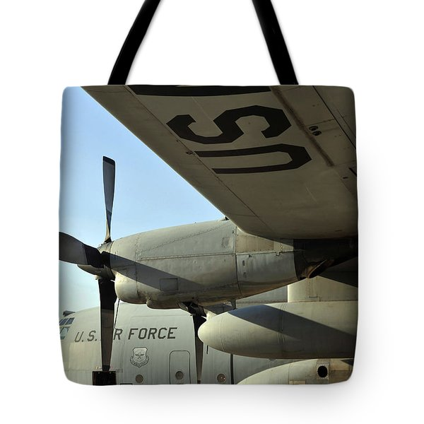 Mechanics Change An Auxiliary Power Tote Bag by Stocktrek Images