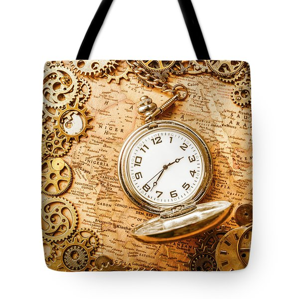 Mechanisms In Industrial Time Tote Bag