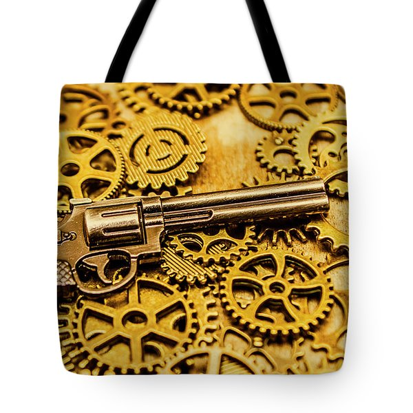 Mechanisms Of The Wild West  Tote Bag