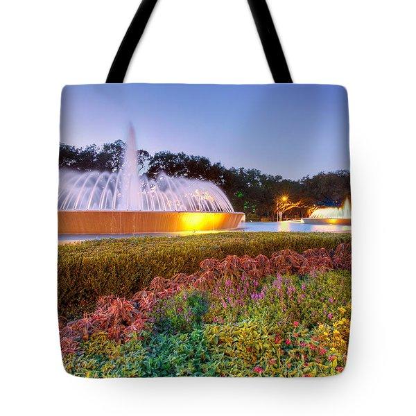 Mecom Fountain Tote Bag