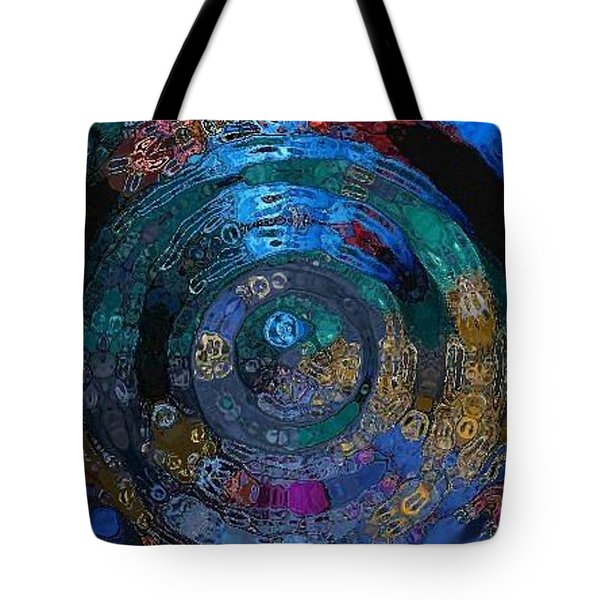 Medallion Batik Tote Bag by Alika Kumar