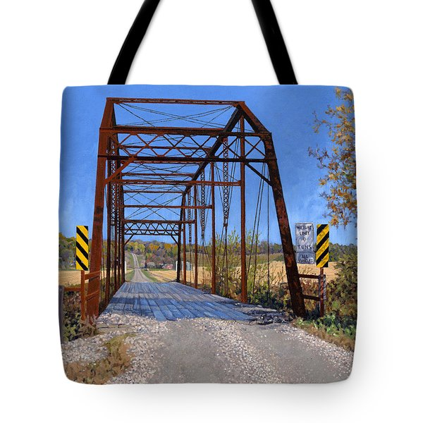 Medford Avenue Bridge Tote Bag