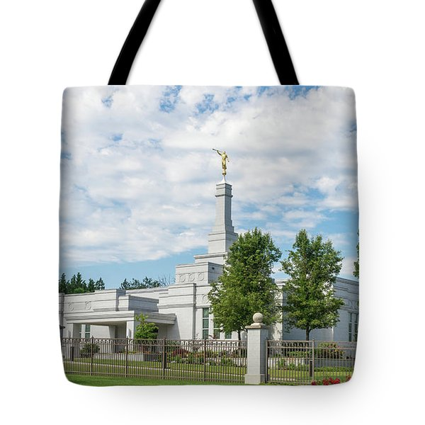 Medford Temple Tote Bag