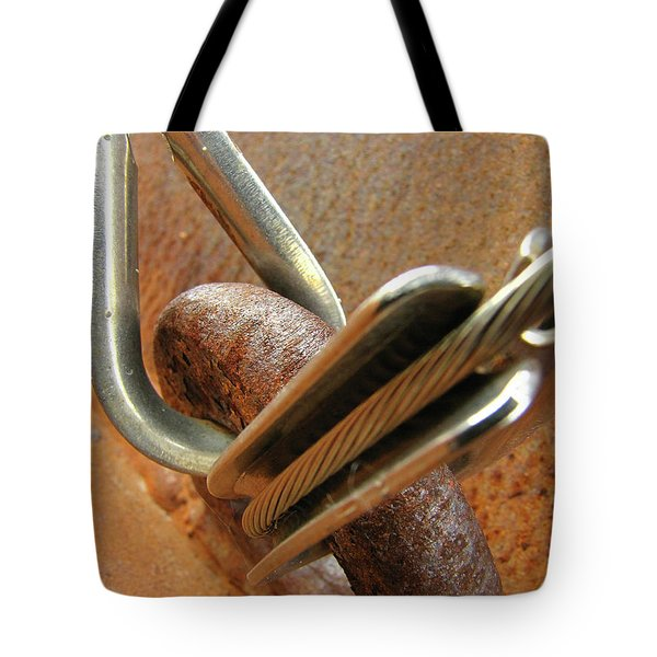 Mediation Of Conflict Tote Bag
