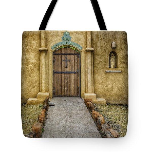 Mediatrix Of All Graces Tote Bag
