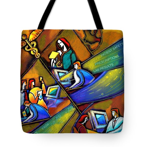 Medicare And Information Technology Tote Bag