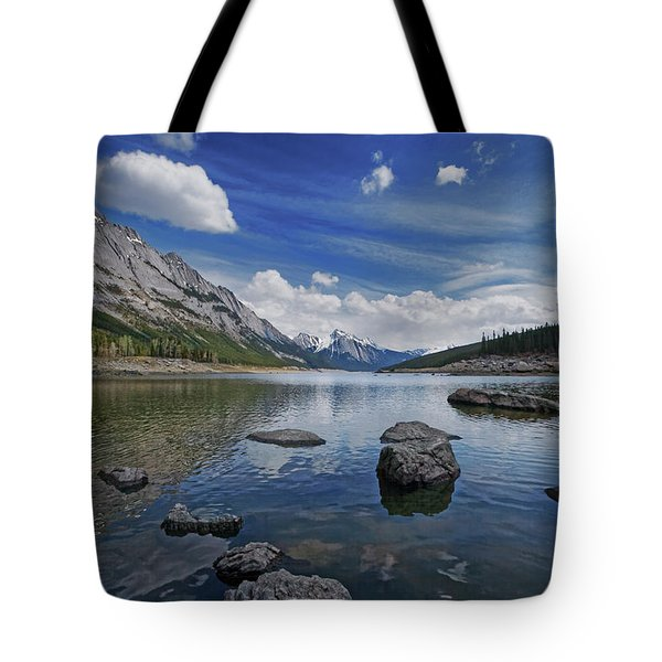Medicine Lake, Jasper Tote Bag