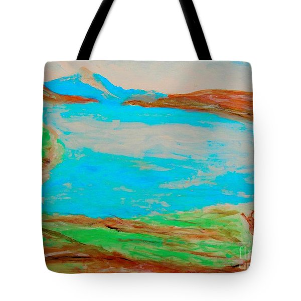 Medicine Lake Tote Bag