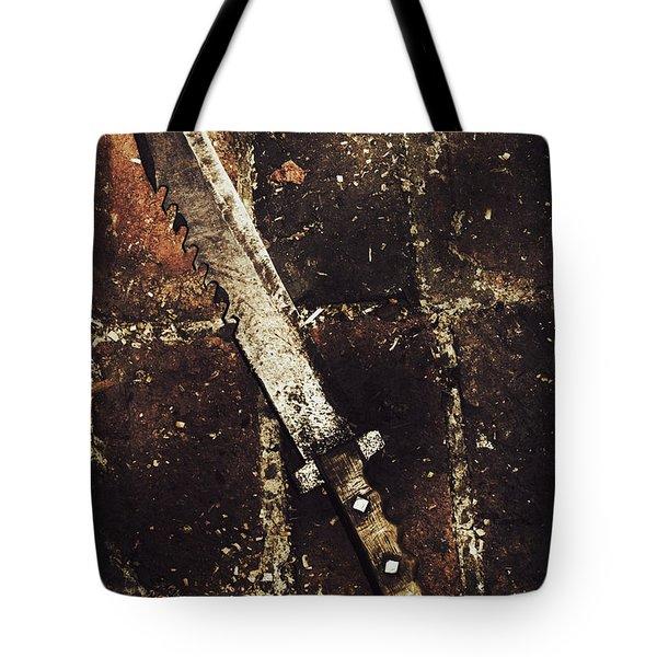 Medieval Blacksmith Sword Tote Bag
