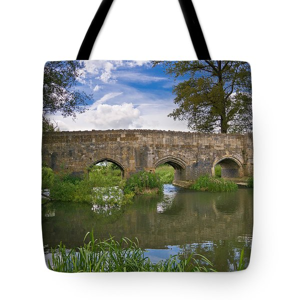 Medieval Bridge Tote Bag