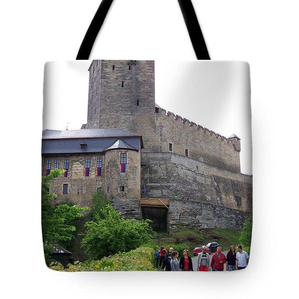 Medieval Castle Kost Czech Republic Tote Bag