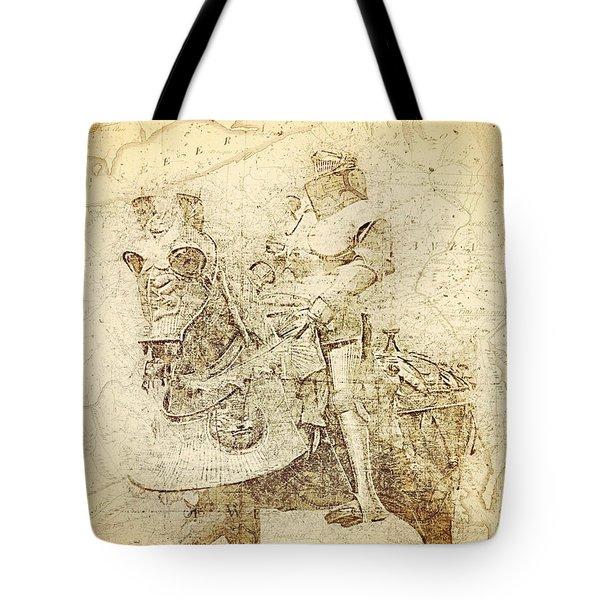 Medieval Europe Tote Bag