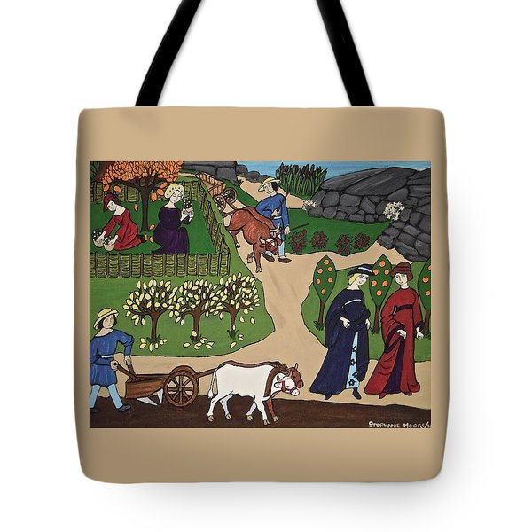 Medieval Fall Tote Bag by Stephanie Moore