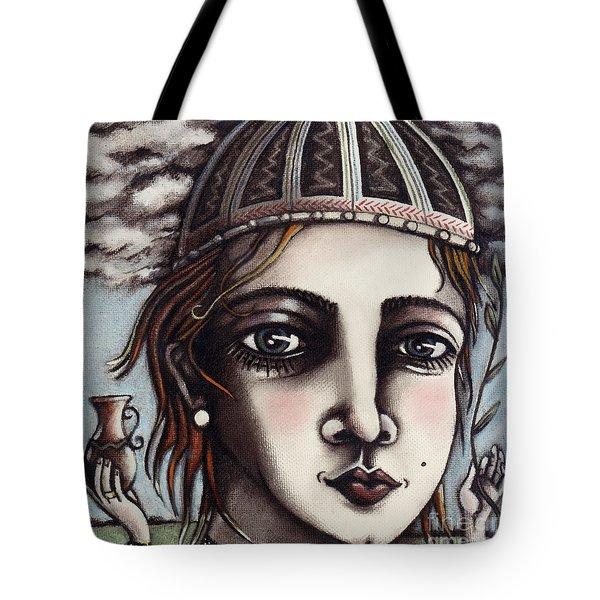 Medieval Herbalist Tote Bag