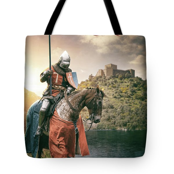Medieval Knight 3 Tote Bag