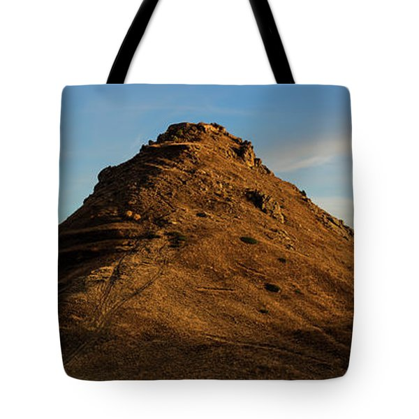 Medieval Proshaberd Fortress On The Top Of The Hill, Armenia Tote Bag