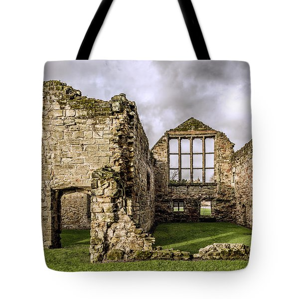 Tote Bag featuring the photograph Medieval Ruins by Nick Bywater