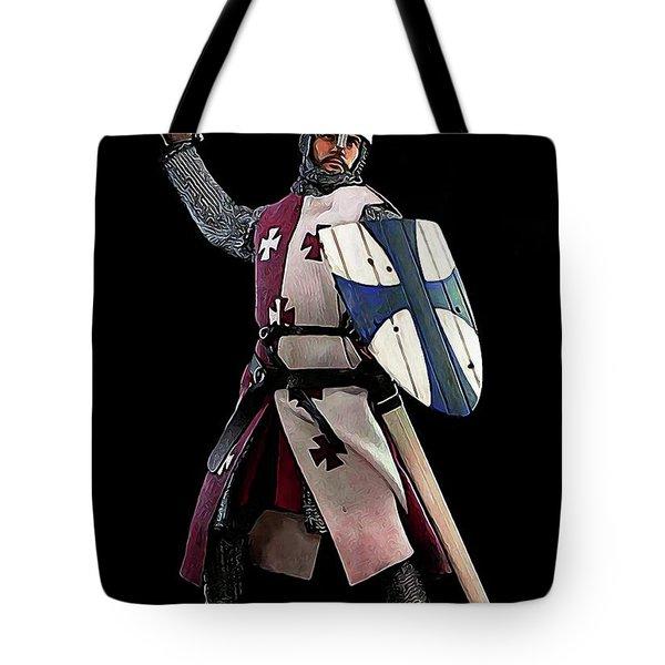 Medieval Warrior Tote Bag