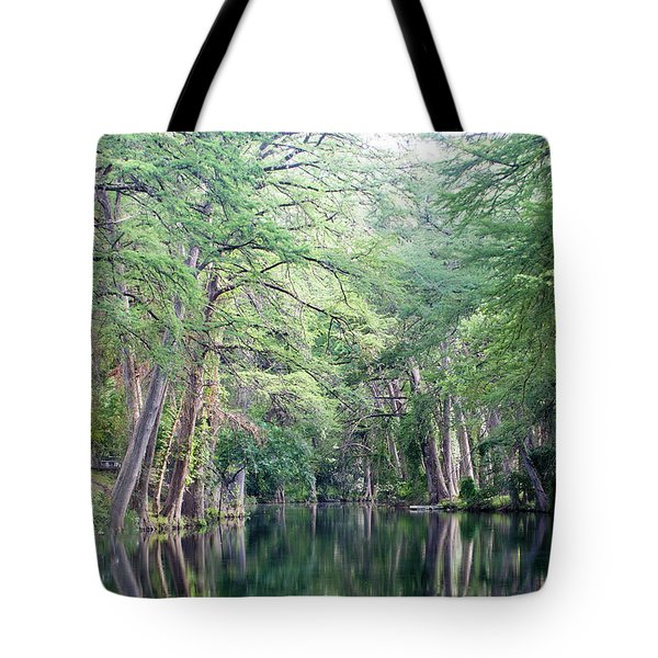 Medina Creek In Summer Tote Bag