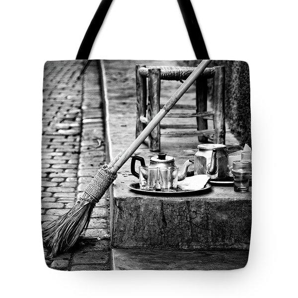 Medina Tea Break Tote Bag by Marion McCristall