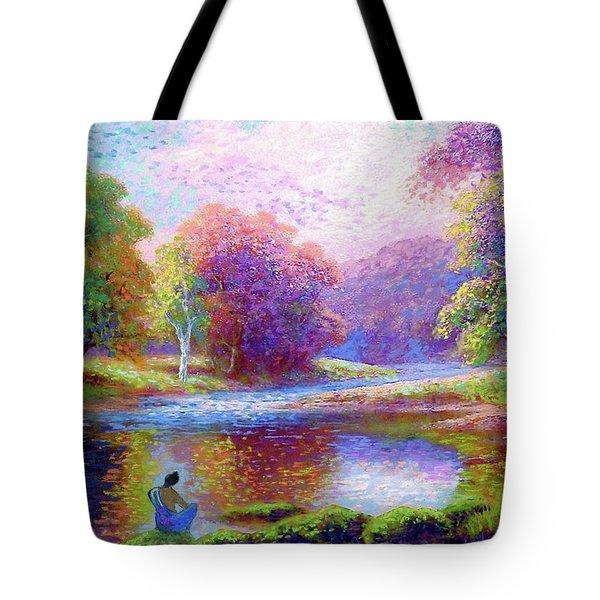 Meditating On The Eternal Now Tote Bag