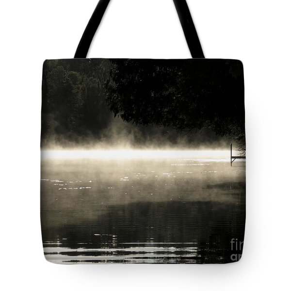 Tote Bag featuring the photograph Meditation Morning by France Laliberte