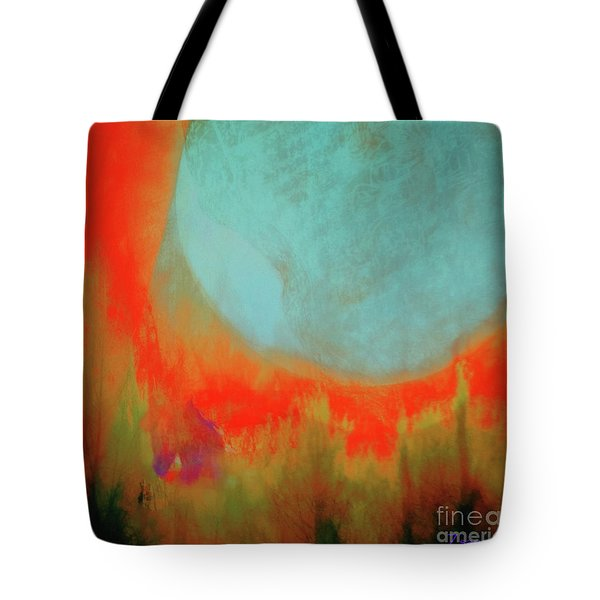 Super Blue Moon Tote Bag