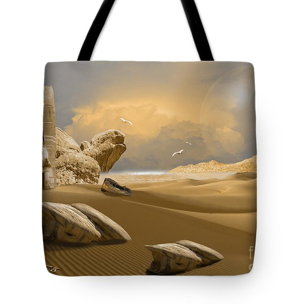 Meditation Place Tote Bag