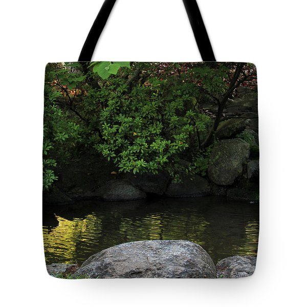 Meditation Pond Tote Bag