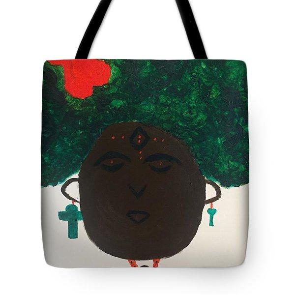 Meditation Queen  Tote Bag