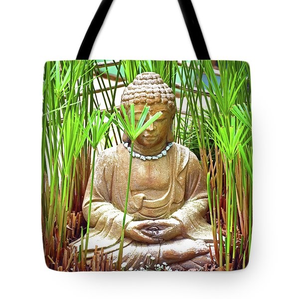 Meditation Tote Bag by Ray Shrewsberry