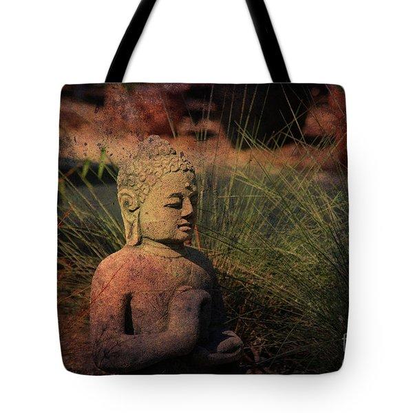 Meditation Tote Bag by Susanne Van Hulst