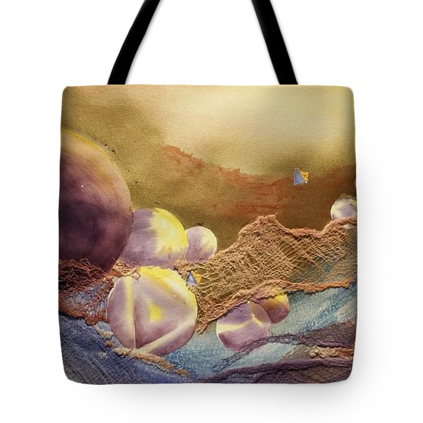 Meditation Tote Bag by Tara Moorman