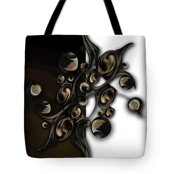 Meditation Vs Dimension Tote Bag