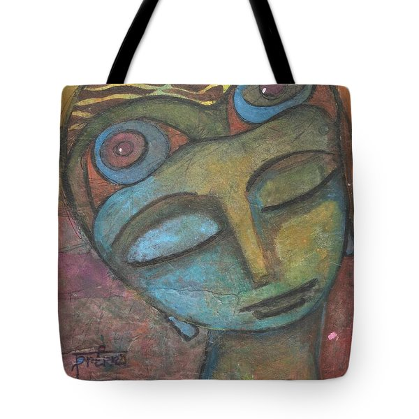 Meditative Awareness Tote Bag