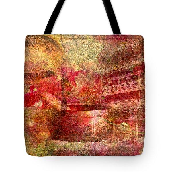 Meditative Montage 2015 Tote Bag