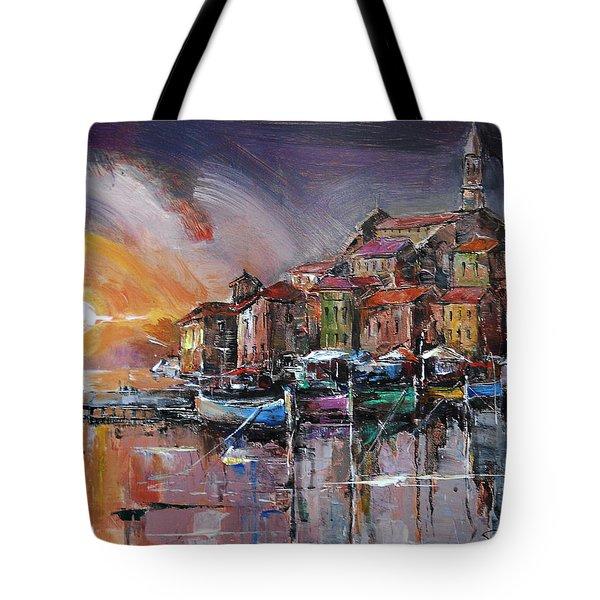 Mediterranean Motif IIi      Tote Bag