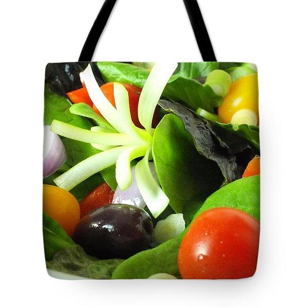 Mediterranean Salad Tote Bag