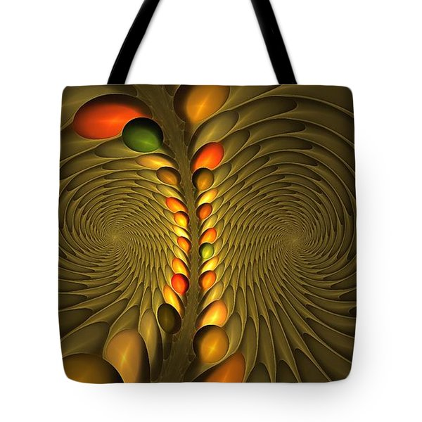 Meditirina Seed Pod Tote Bag