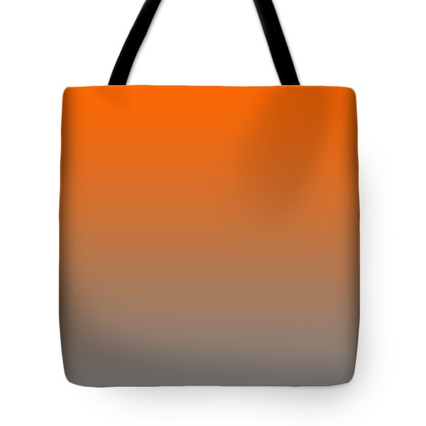 Medium Gray Ombre Tote Bag