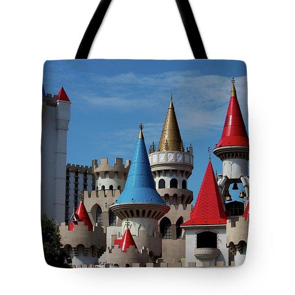 Medival Castle Tote Bag