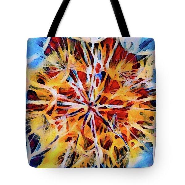 Medow Dandelion Tote Bag by Adam Olsen