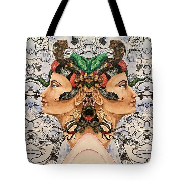 Medusa 4 Tote Bag