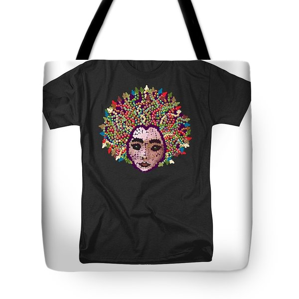 Medusa Bedazzled Tee Tote Bag
