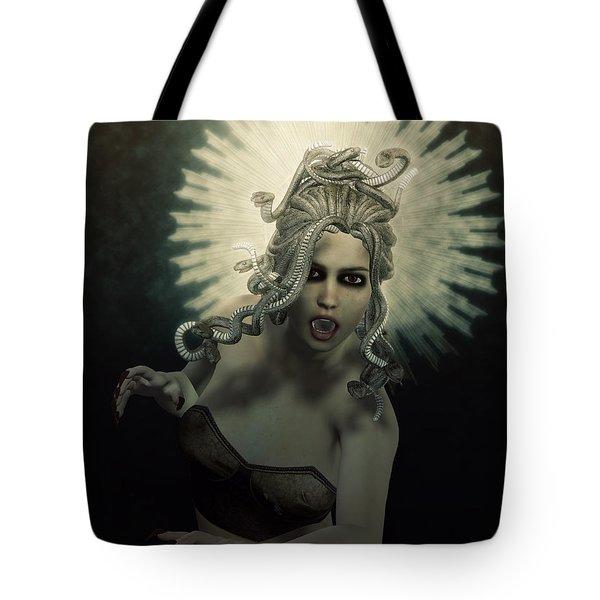 Medusa Tote Bag by Joaquin Abella