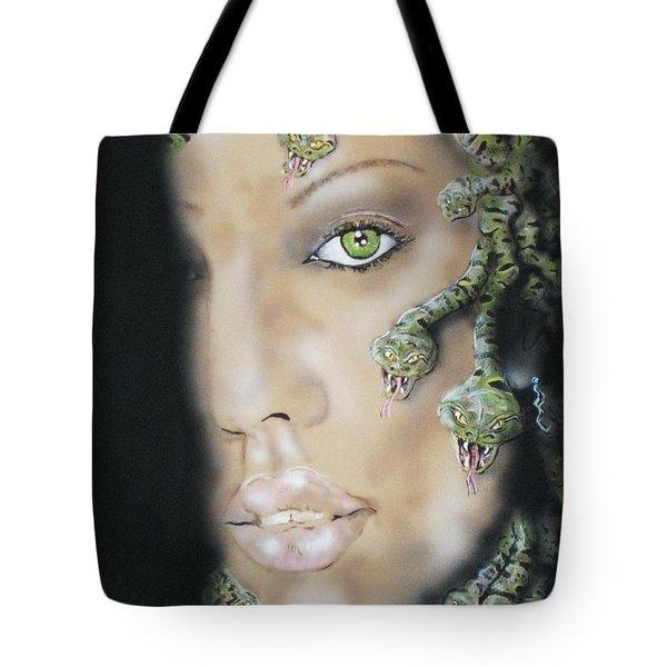 Medusa Tote Bag by John Sodja