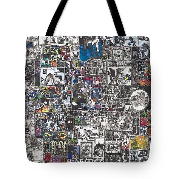 Medusa Maze Tote Bag