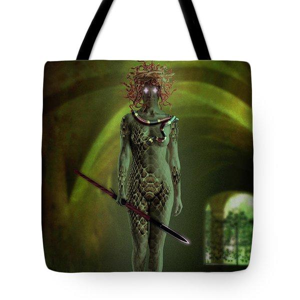 Medusa Tote Bag by Scott Meyer