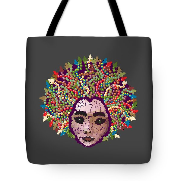 Medusa With Transparent Background Tote Bag by R  Allen Swezey